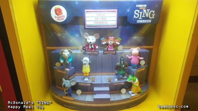 McDonald's SING Happy Meal Toy