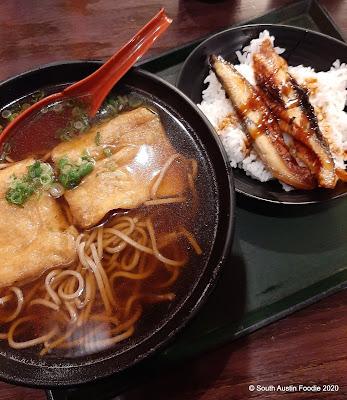 Nande-ya Japantown soba unagi