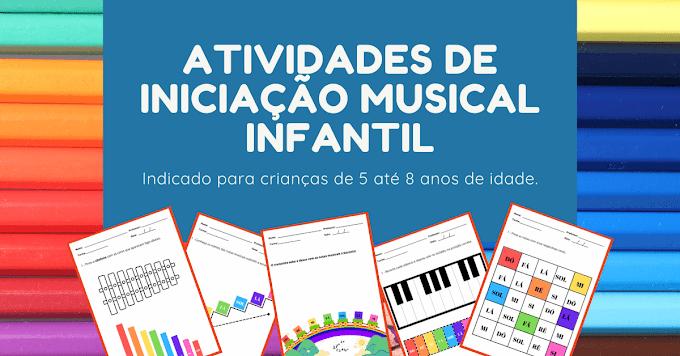 Atividades Para Iniciação Musical Infantil