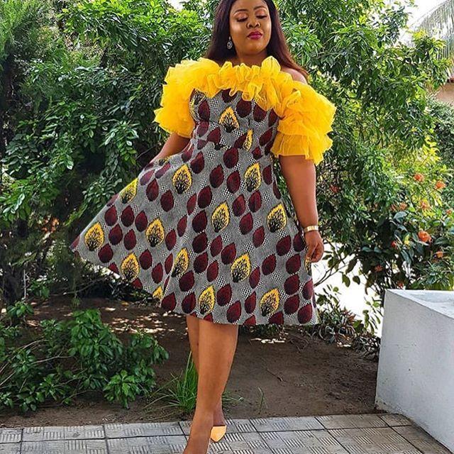 2019 Simply Stunning Ankara Gown Styles