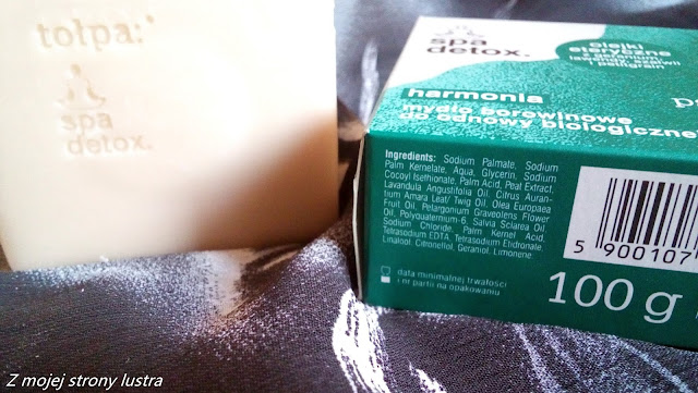 mydło borowinowe harmony tołpa skład