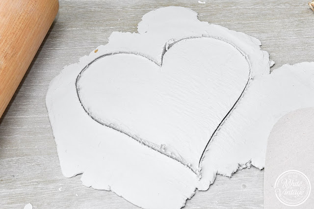 Herz aus Knetmasse basteln