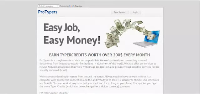 Data Entry Jobs Site - Protypers
