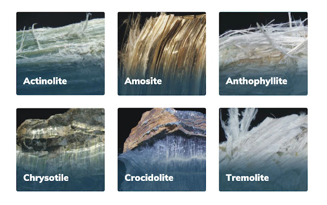 Asbestos minerals have separable long fibers that are strong and flexible enough to be spun and woven and are heat resistant.