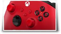 la manette sans fil Pulse Red de Microsoft