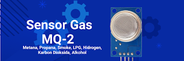Belajar menggunakan sensor gas MQ-2 di Arduino UNO