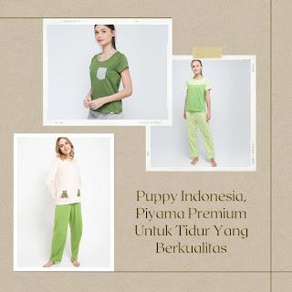 puppy indonesia piyama premium
