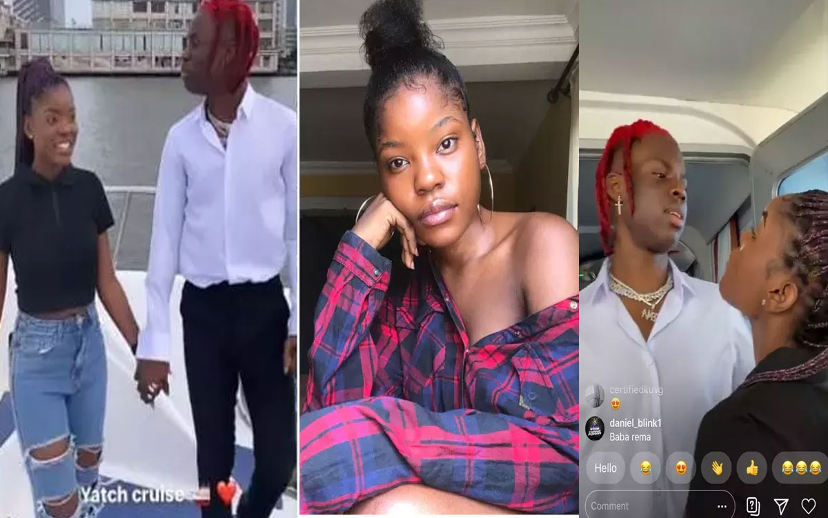 Do You Remember Nimmie, The Lady Rema Took Out On A Date? 3 Months After, See Her Recent Pictures #Arewapublisize