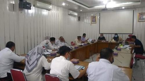Mantap! Komisi I DPRD Kota Padang Paling Awal Kontrol Kelebihan Dana BTT