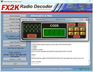 free auto repair manuals software fx2k radio decoder pro
