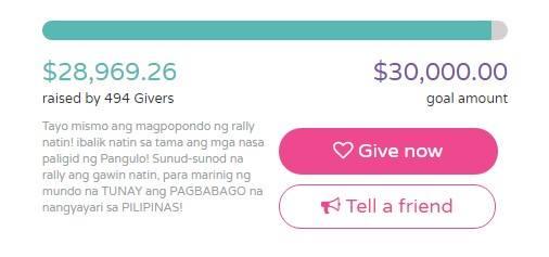 READ ► Umabot na sa Higit PHP 1.5 Million ang Fundraising sa Pagpapatalsik kay Vice President Leni Robredo!