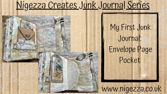 Nigezza Creates My First Junk Journal: Envelope Page Pocket