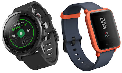 Xiaomi Amazfit BIP & Xiaomi Amazfit Stratos launched in India