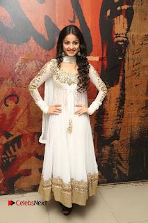 Telugu Actress Mahima Makwana Stills in White Desginer Dress at Venkatapuram Movie Logo Launch  0232.JPG