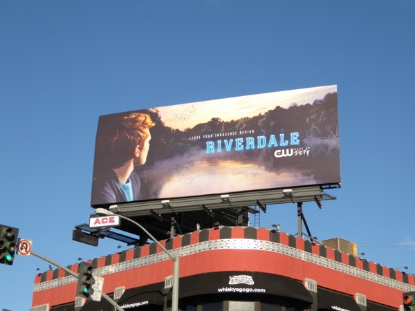 Riverdale series premiere billboard