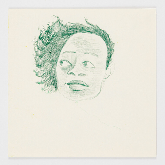 Kara Walker Untitled, 2002-2007 graphite, colored pencil, pastel, marker and collage on paper suite of 2 works 27.9 x 21.6 cm (each)