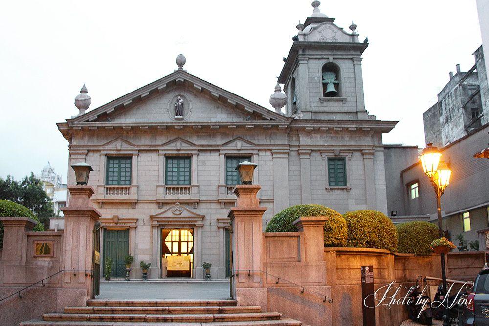 【澳門景點】聖安多尼堂。葡人婚禮的殿堂 by 妮喃小語