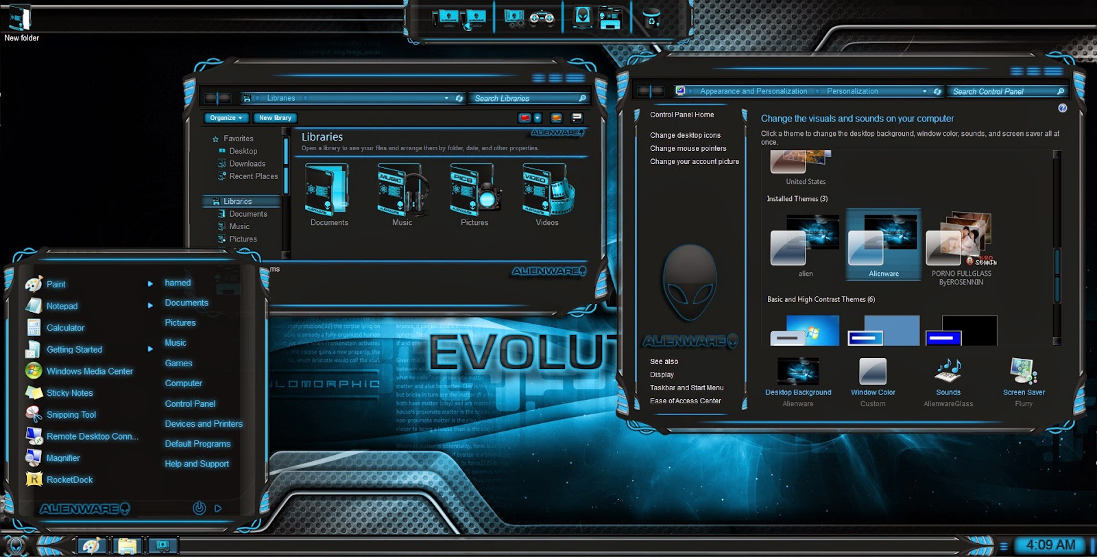 Alienware theme for windows 10 free download