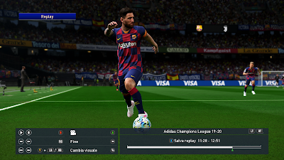 PES 2019 Ballpack Adidas Champions League 2019/2020 by Vito