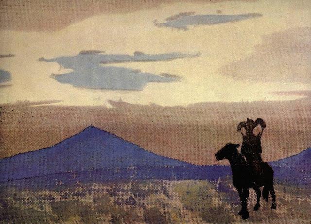 Николай Рерих - Мать Чингисхана