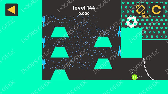 Ball & Ball Level 144 Solution, Walkthrough, Cheats for android and ios
