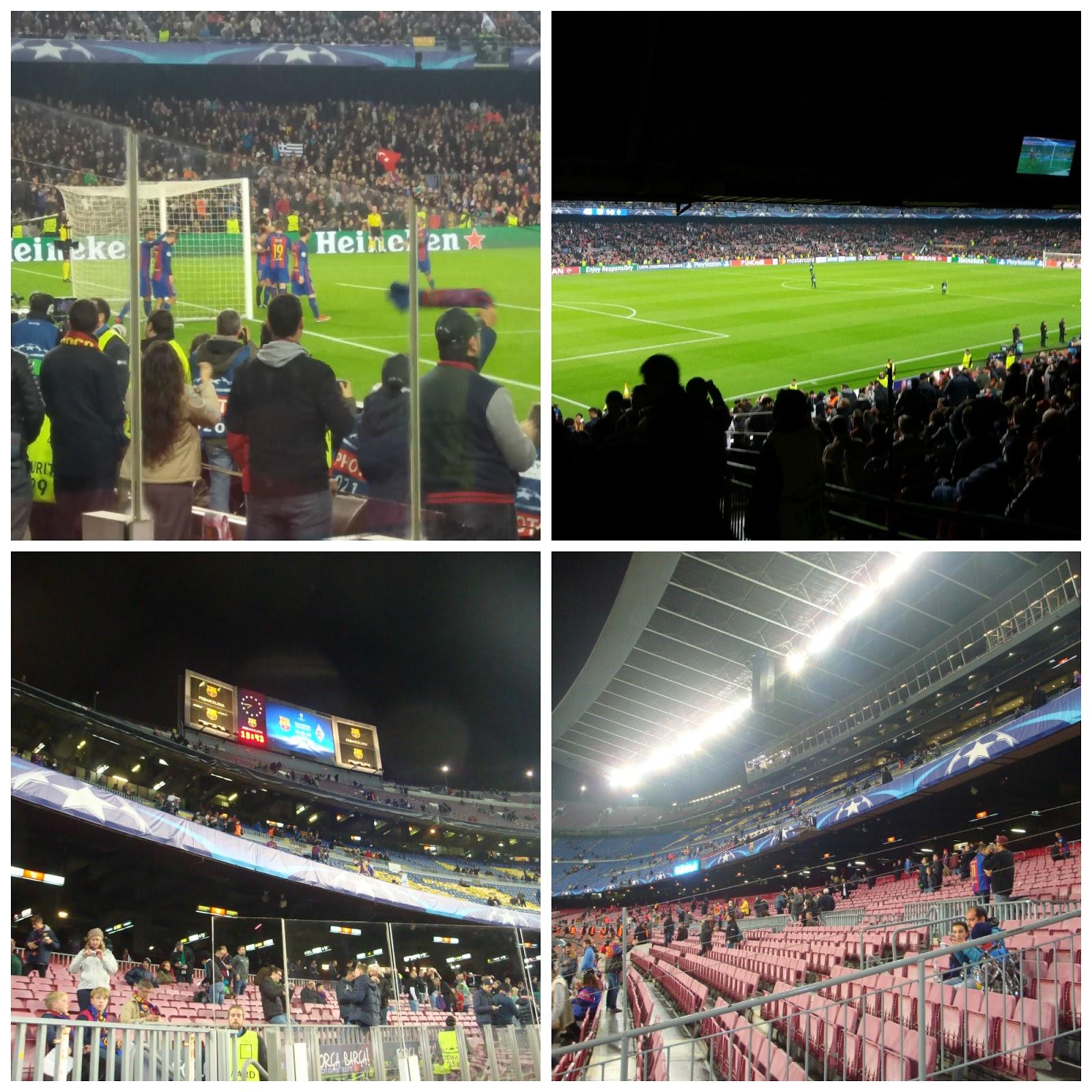 Tá indo pra onde   Como é ver um jogo do Barça no Camp Nou! 3d82f7ee1f54a