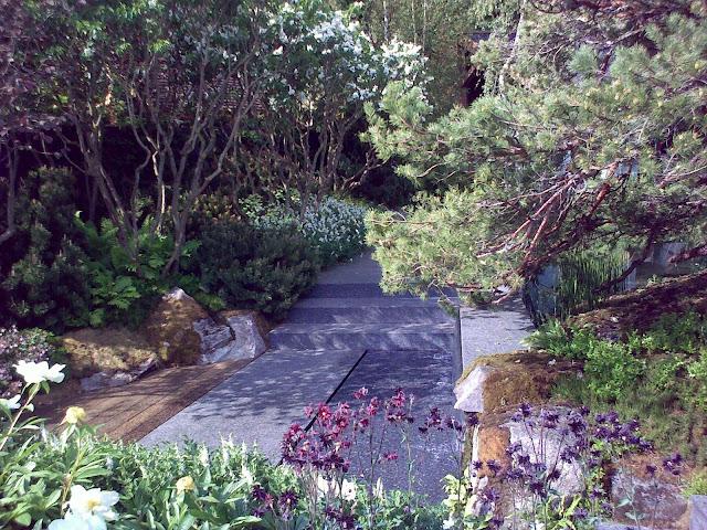 ogród inspirowany przyroda Norwegii