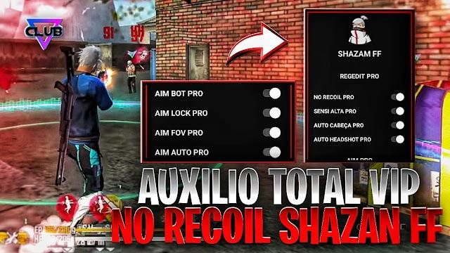 NEW APK REGEDIT SHAZAN FF PERMANENT NO RECOIL AIMBOT PRO AIMLOCK AIMFOV PRO AUTO HEADSHOT SENSI ALTA