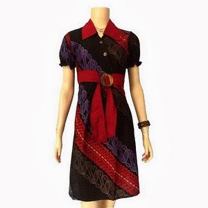 Description Model Dress Batik Modern Terbaru Rating