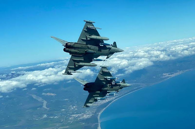 Italian Eurofighter multirole Swing Role