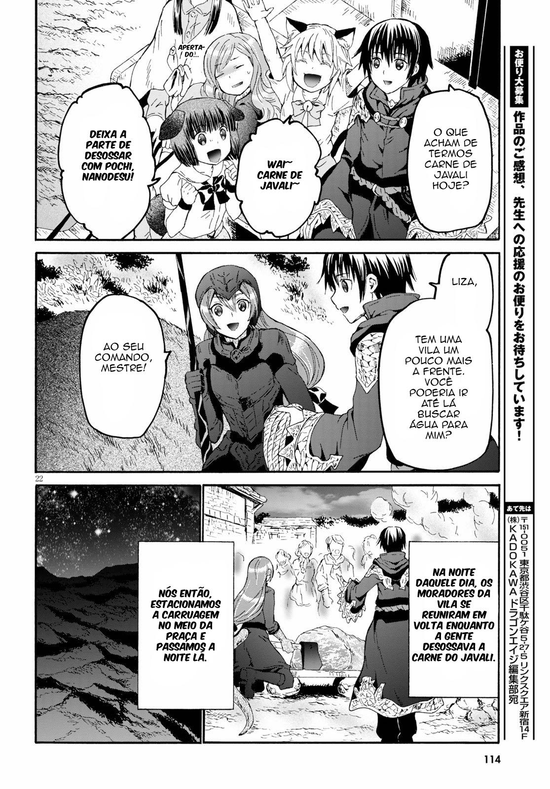 Death March Kara Hajimaru Isekai Kyousoukyoku / Death March To The Parallel World Rhapsody Mangá Online Capítulo 69