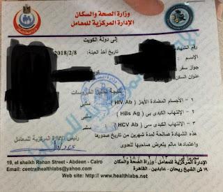 كيفية استخراج فيش وتشبيه من الكويت