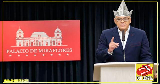 El psicópata Jorge Rodriguez anunció el fin del diálogo en Barbados