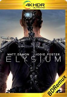 Elysium (2013) [4K REMUX] [Latino-Inglés] [LaPipiotaHD]
