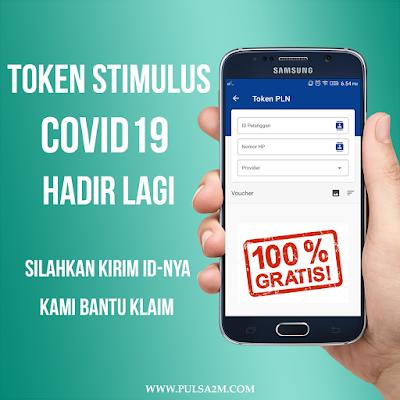 token stimulus covid19 psbb gratis