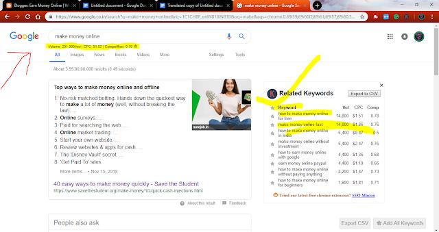 Keyword Everywhere - Keyword tool