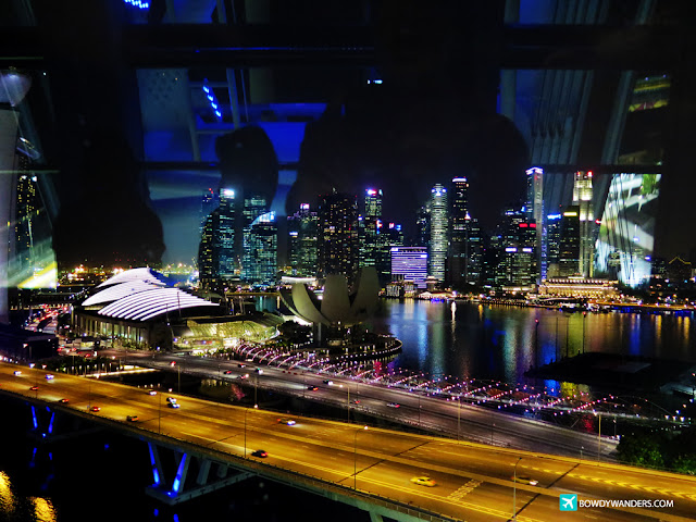 bowdywanders.com Singapore Travel Blog Philippines Photo :: Singapore :: Singapore Flyer, Photo Essay: How To Elevate The Singapore Skyline Experience
