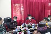 Bupati Tabanan DR. I Komang Gede Sanjaya Pimpin Rapat Evaluasi Penanganan Covid-19
