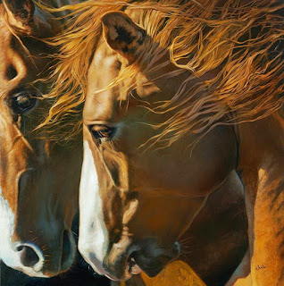 oleo-caballos-rostros-pintura