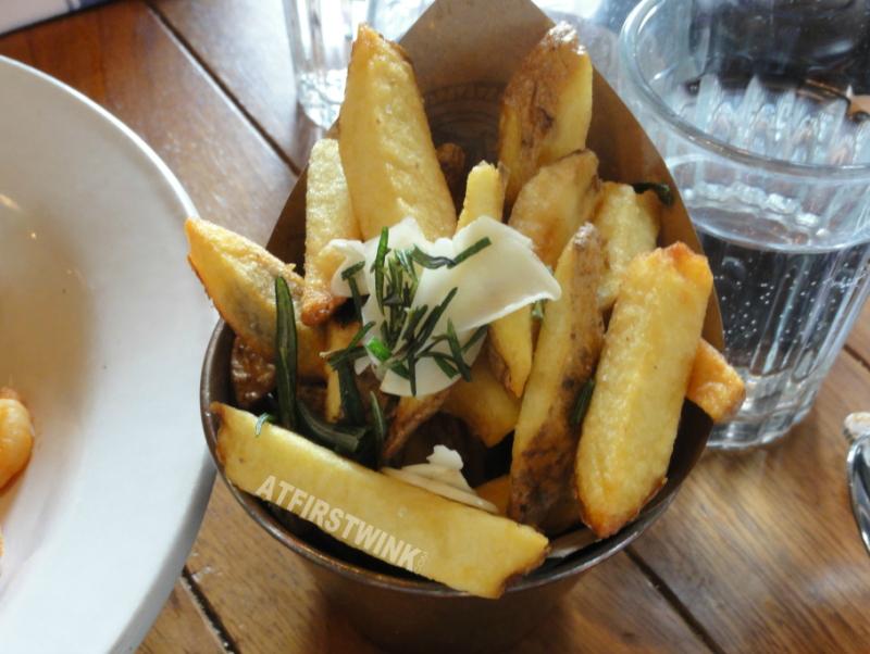 Jamie's Italian markthal Rotterdam funky chips