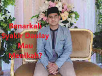 Benarkah Syakir Daulay Mau Menikah?