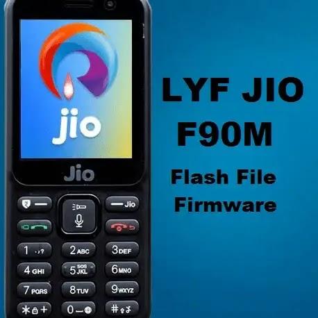 Lyf jio phone f90m flash file