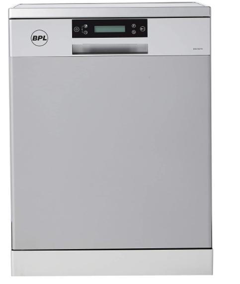 BPL 12 Place Settings Dishwasher (D812S27A, Silver, Inbuilt Heater)