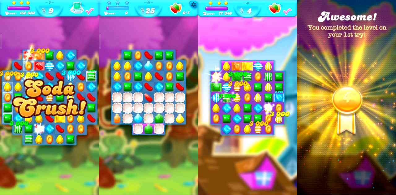 Candy Crush Soda Saga pour Android