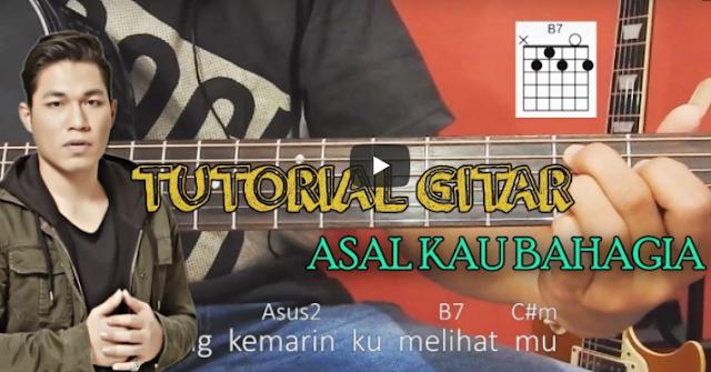 Belajar Lagu Asal Kau Bahagia Lengkap Bersama Sobat P
