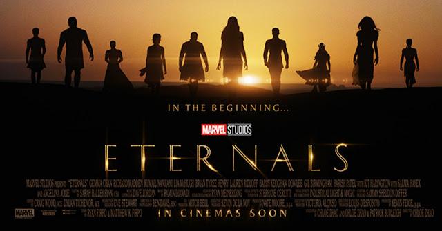 Marvel Studios 永恆族 Eternals 電影海報 及 初版預告片