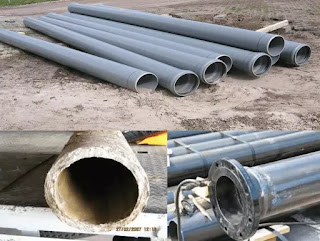 different types of pipes