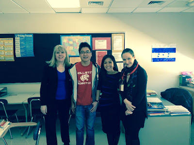 Ms. Moreno, Ms. Weingartner, Antoinette Antonio, and Kit Nguyen