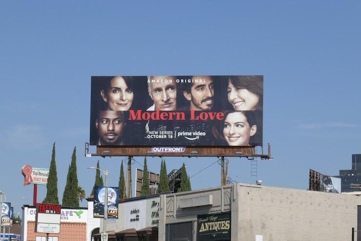 Modern Love season 1 billboard