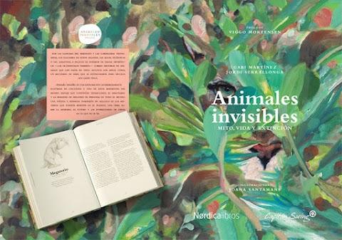 «Animales invisibles» de Gabi Martínez, Jordi Serrallonga y Joana Santamans (Capitán Swing - Nórdica Libros)